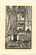 F.Tabary  Ex Libris TBE 10.5 X 15 Cm  Voir Détails Sur Le Scan - Ex-libris