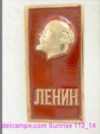 V.I. Lenin Russia Revolutionist, Scientist, Communist, Leader Soviet People / Soviet Badge 119_14_5499 - Beroemde Personen