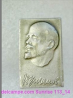 V.I. Lenin Russia Revolutionist, Scientist, Communist, Leader Soviet People / Soviet Badge 119_14_5480 - Personnes Célèbres