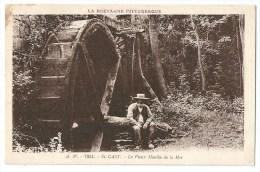 Cpa: 22 SAINT CAST (ar. Dinan) Le Vieux Moulin De La Mer (animé) N° 7854 - Saint-Cast-le-Guildo