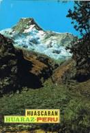 7359. Postal HUARAZ - ANCASH (Perú). Montañas Del Huascaran - Perú