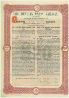 The Mexican Union Railway - Chemin De Fer & Tramway