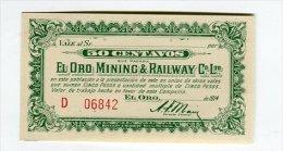 Mexique 50 Centavos Revolution Mexicaine Oro Mining - México