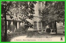 QUATRE C.P.A-NANTERRE-Maison Départementale- (rectos Versos) - Nanterre