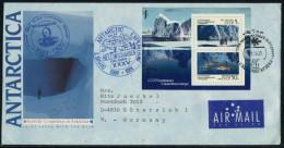 ANTARCTIC, RUSSIA,  RAE 35, BELLINGHAUSEN   3.8.1990 , 2 Cachets, Nice Cover  !! - Antarctische Expedities