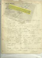 54 - Meurthe-et-moselle - PONT-ST-VINCENT - Facture DUVAL - Loueur De Voitures – 1910 - 1900 – 1949
