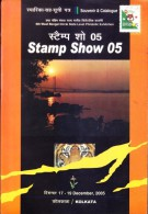 Indian Philately Book- Sourenir And Catelogue Of Stamp Show 2005, Kolkata - Books, Magazines, Comics