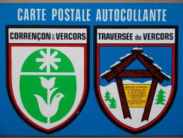 38 - CORRENÇON En VERCORS - TRAVERSEE Du VERCORS. (Blason Autocollant) - France