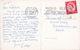 YP530 SLOGAN. 1962 . WORLD HEALTH ORGANISATION FIGHTS MALARIA . - Poststempel