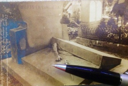 Guerre Cimetière Tombe Monument Bartoldi A Colmar Sabre Mort - Storia