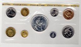 MONACO - 1976 - SERIE COMPLETE  FLEURS DE COINS - Monaco
