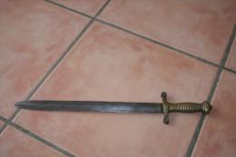 GLAIVE GARDE NATIONALE OU POMPIER Mle 1855 - Knives/Swords