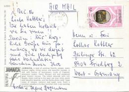 Jamaica 1986 Ocho Rios Royal Wedding Princess Diana 45c Viewcard - Jamaica (1962-...)