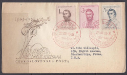 Czechoslovakia1948: Michel 546-8FDC - Czechoslovakia