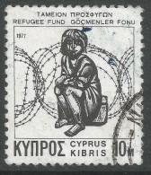 Cyprus. 1977 Refugee Fund. 10m  Used - Cyprus (Republic)