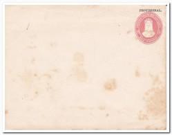El Salvador 10 Centavos Prepayed Envelope Provisional - El Salvador