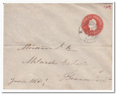 Argentinie 1902, 5 Centavos Prepayed Envelope - Enteros Postales