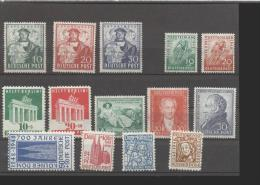 Alliierte Besetzung  Amerikanische Und Britische Zone **  69-72, 101-102, 103-105, 106-107, 108-110 Katalog  107,00 - Bizone