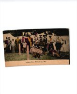 3 Postcards Native Americans Indians  Tribe  Near Wittenberg Wiscounsin  Ute Chief And Squaw C1904 To 1910 Etnic Rare - Indiens De L'Amerique Du Nord