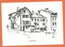 MOL2/306, Peseux, Grand Format, Non Circulée - NE Neuchâtel