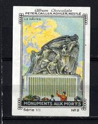 Nestlé - VII - Monuments Aux Morts - 2 - Le Hâvre - Nestlé