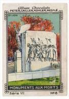 Nestlé - VII - Monuments Aux Morts - 8 - Dijon - Nestlé