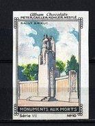 Nestlé - VII - Monuments Aux Morts - 10 - Saint Brieuc - Nestlé