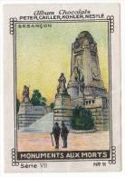 Nestlé - VII - Monuments Aux Morts - 11 - Besançon - Nestlé