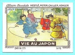 Nestlé - 25 - Vie Au Japon, Life In Japan - 5 - Jeux D'enfants, Child Games - Nestlé