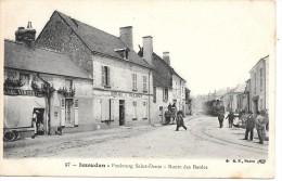 ISSOUDUN - Faubourg Saint-Denis - Route Des Bordes - TRAIN - Issoudun