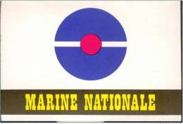 Belle Publicité Cartonnée Pour La Marine Nationale Façon Carte Postale - Marins - Marin - Navire De Guerre - Altri