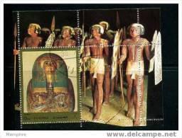 FUJEIRA Ancient Egypt Souvenir Sheet  MNH - Egyptology