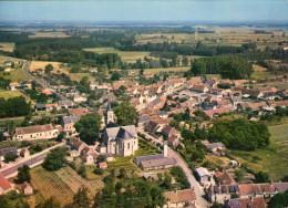 Varennes-sur-Fouzon..belle Vue Aérienne Du Village..L'Eglise - Autres Communes