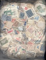 550 GRAMOS DE SELLOS DE LA REPUBLICA ORIENTAL DEL URUGUAY OBLITERES SOLD AS IS EN UNA BOLSA - Postzegels