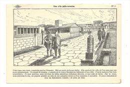 Cp, Histoire, Histoire De France - N° 5 - Une Villa Gallo-Romaine, Dessin : M. A.  Carlier - Storia