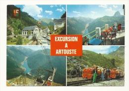 Cp, Train, Excursion à Artouste, Multi-Vues - Trains