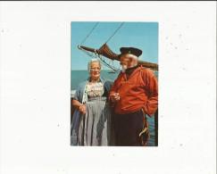 Zeeland    Klederdrachten  Couple D'Anciens En Tenue Du Pays - New Zealand