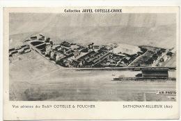 Sathonay Rillieux  Vue Aerienne Ets Cotelle Et Foucher Collection Javel Cotelle Croix - Frankrijk
