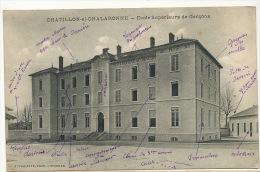 Chatillon Sur Chalaronne Ecole Superieure De Garçons  Edit Vialatte - Châtillon-sur-Chalaronne