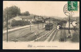 MONTARGIS . La Gare - Les Quais . - Montargis