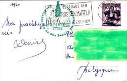 8] Carte Postale Postcard Autriche Austria Oblitération Spéciale Special Cancellation Vierge Marie Virgo - Poststempel - Freistempel