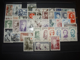 ANNEE COMPLETE FRANCE 1956 NSC **  41 TIMBRES YT 1050 - 1090 ( YEAR SET JAHRGANG ) - Francia