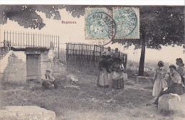 22950 Bagneux. La Vieille Fontaine . -femme