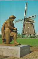 Rembrandt & Windmill   Co777 Euro Cards/Rotterdam   Front & Back Shown Of Postcard - Amsterdam