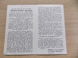 Doodsprentje Arthur Maurits Declerck Ardooie 24/12/1893 Rielt 9/10/1963 ( Maria Alleins) - Religion & Esotérisme