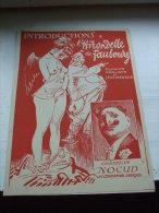 INTRODUCTIONS A L´HIRONDELLE DU FAUBOURG -Romance Réaliste Et Sentimentale - Création NOCUD Au Chabanais Lyrique - Programmes