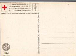 CROIX-ROUGE SUISSE - 1944 - CARTE De La BATAILLE De ST JAKOB En 1444 - Croix-Rouge