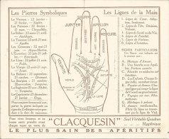 Publicité RARE Lignes De La Main Magie Et Pierres Symboliques Illustré Préjean  CLACQUESIN   édit Clacquesin Art Nouveau - Advertising