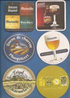 LOT DE 5 SOUS-BOCKS NEUFS    ( Recto Et Verso Pour Le Dernier) - Beer Mats