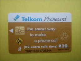 Phonecard Sud Africa Beat Of Your Heart 2 Photo's Used - Schede Telefoniche